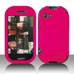 Rubber Hot Pink Hard Case Cover Microsoft Sharp Kin Two