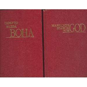 Search for God/ Lidstvo Hleda BOHA 2 books English/Czech