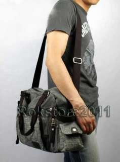 2012 New Pattern Canvas Mens Travel Bag BookBag Gym Duffle Pack