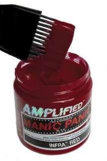 MANIC PANIC Hair Dye Amplified Infra Red Gothic Punk Rockabilly Bright