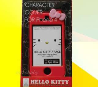 Hello Kitty Hard Case Cover Skin for Apple iPhone 4 4G 4S+Screen