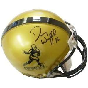 Danny Wuerffel Autographed/Hand Signed Gold Heisman