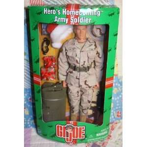 GI Joe Heros Homecoming Army Soldier Action Figure Toys & Games