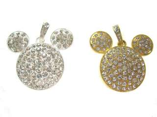 Crystal Mickey Mouse 4GB USB Flash Memory Stick Drive