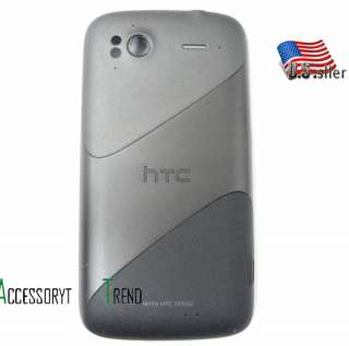 Used OEM TMobile HTC Sensation 4 G 4G battery Door Backdoor Cover Back
