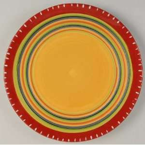 Certified Int Corp Hot Tamale Dinner Plate, Fine China