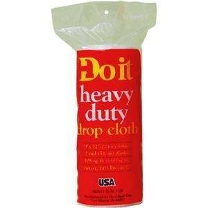 Do it Plastic Drop Cloth, 2MIL 9X12 PLS DROP CLOTH