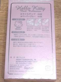 Sanrio Hello Kitty Acrylic/Gel nail Art Box Set (24 pc)