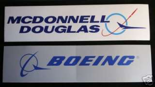 BOEING MCDONNELL DOUGLAS MD BUMPER STICKER ZAP US ARMY NAVY AIR FORCE