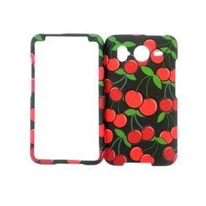 Premium   HTC Inspire 4G Cherries Cover Case   Faceplate