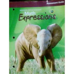 Houghton Mifflin Math Expressions Assessment Guide Grade 3 (Math