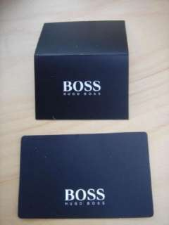 BOSS MENS BLACK LEATHER TRAVEL CREDIT CARD NOTES COINS SUIT BAG WALLET
