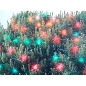 150 Net Light Set   Multi color Lights   Green Cord   4x6 Net