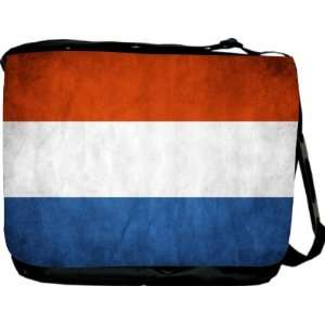 Rikki KnightTM Netherlands Flag Messenger Bag   Book Bag