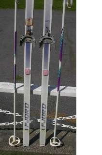 Cross Country 79 Skis 3 pin 205 cm +Poles DYNASTAR