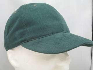 HUNTER GREEN BASEBALL CAP HAT MACDADDY #109