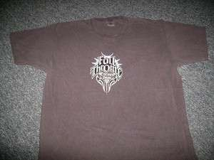 FULL THROTTLE tribal logo Energy Drink T shirt large Coca Cola