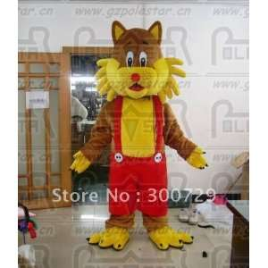 yellow cat mascot costumes character cat costumes Toys & Games