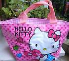 CUTE Hello Kitty Lunch Bag Handbag PURSE Tote Nice Gift For Kids #J9