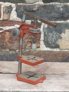 vintage Belt Driven JACOBS CHUCK & DRILL PRESS / no key