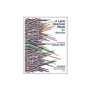 Latin American Album For Marimba Musical Instruments
