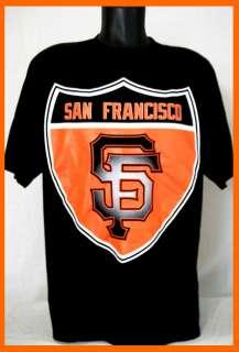 GIANTS Black T Shirt California Interstate Sign M L Lrg XXL 2XL