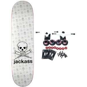 SKATEBOARDS Complete Skateboard JACKASS 3 8 Sports & Outdoors