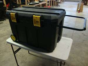 50 GAL. PRO MOBILE JOB CHEST ROLL TOOL BOX, JOB BOX