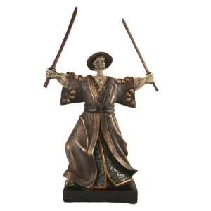 Japanese Samurai Warrior Figurine Sculpture Art SM37240A