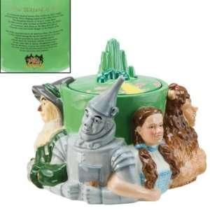 The Wizard of Oz Emerald City Ceramic Cookie Jar