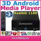 NEW 3D Android Linus Network Media Player HDMI 1.4 3.5 HDD MKV