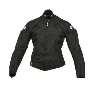Joe Rocket Lotus Ladies Textile Motorcycle Jacket Black