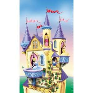 Disney Princess Castle Growth Chart Kitchen & Dining