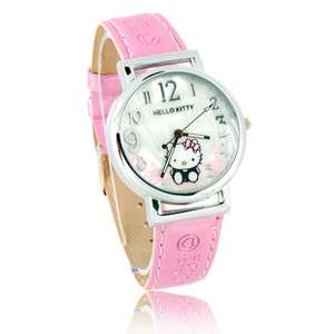 Fashion hello kitty women Watches hellokitty lady cute wristwatch girl