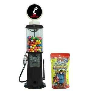 Cincinnati Bearcats Black Retro Gas Pump Gumball Machine