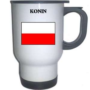 Poland   KONIN White Stainless Steel Mug Everything