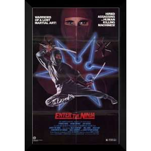 Enter the Ninja FRAMED 27x40 Movie Poster Franco Nero