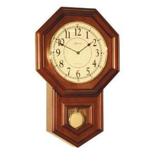 Schoolhouse Style Quartz Movement Wood Wall Clock
