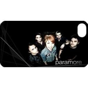 Paramore iPhone 4 iPhone4 Black Designer Hard Case Cover