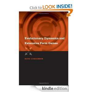 Evoluionary Dynamics and Exensive Form Games (Economic Learning and