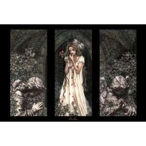Triptych   Poster by Victoria Frances (36x24)