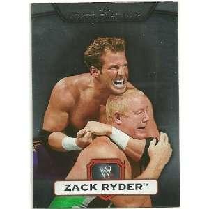 2010 Topps Platinum WWE #60 Zack Ryder