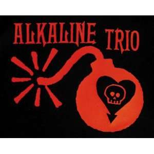 ALKALINE TRIO BOMB EMBROIDERED PATCH Arts, Crafts