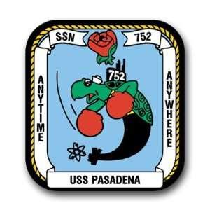 US Navy Ship USS Pasadena SSN 752 Decal Sticker 3.8