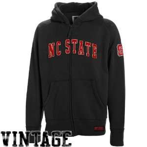 North Carolina State Wolfpack Black Burn Full Zip Hoody