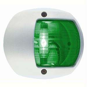 Perko L.E.D. Side Light   Green   12v   White Plastic