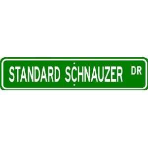 Standard Schnauzer STREET SIGN ~ High Quality Aluminum ~ Dog