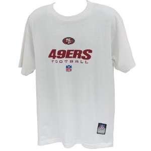 Men`s San Francisco 49ers Short Sleeve White T Shirt
