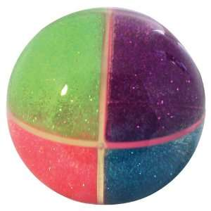 Play Visions Quarterz 100mm High Bounce Ball Toys & Games