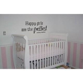 Happy Girls Are The Prettiest Audrey Hepburn   Vinyl Wall Art Decal